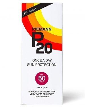 Riemann P20 Once a Day SPF50 Sun Cream