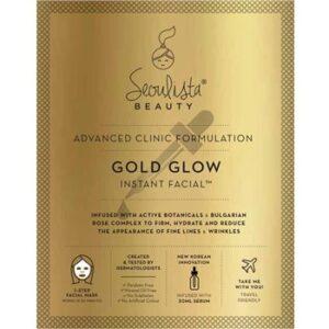 Seoulista Golden Glow Instant Facial