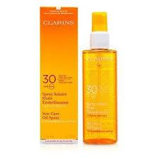 Clarins 30 UVB UVA Sun Care Oil Spray 150ml