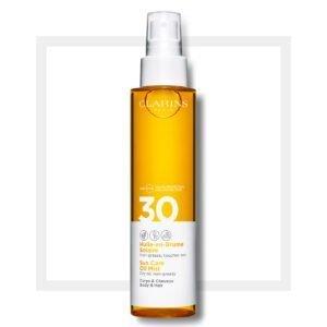 Clarins Sun Care Body Oil-in-Mist UVA/UVB 30