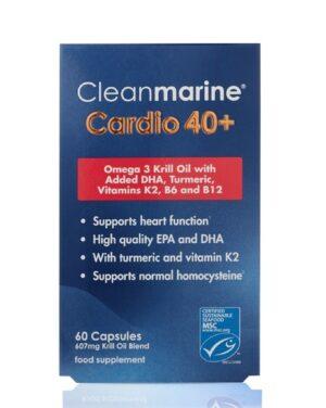 Cleanmarine Cardio 40+  60 Caps
