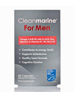 Cleanmarine For Men - 60 Caps