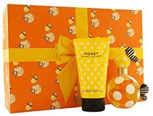 Marc Jacobs Honey Gift Set - 3.4 oz Eau De Toilette Spray + 5 oz Body Lotion