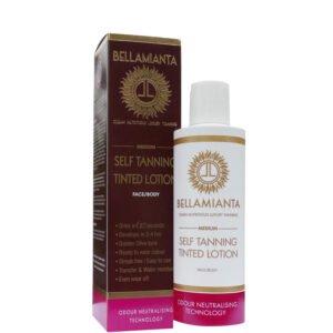 Bellamianta Medium Self Tanning Tinted Lotion