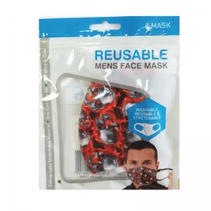 MEN'S REUSABLE FACE MASK - ASSORTED