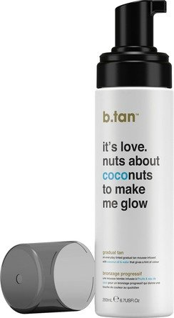b.tan everyday glow coconut mousse