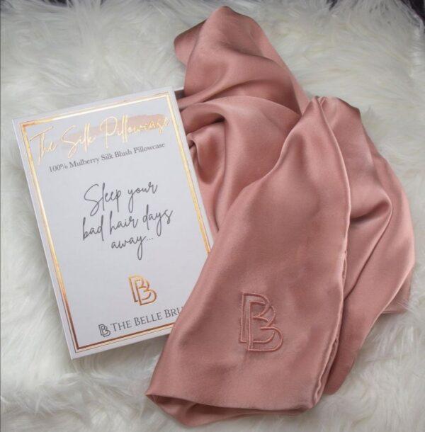 The Belle Brush Silk Pillowcase
