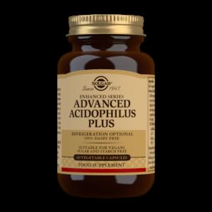 Solgar Advanced Acidophilus Plus Vegetable Capsules